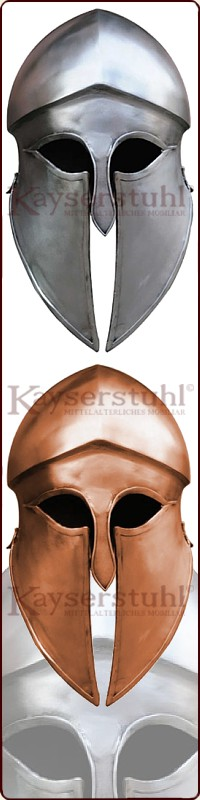 Mittelalter LARP Griechen Hopliten Antike Größen Trojanischer Helm versch