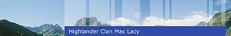Highlander Clan Mac Lacy