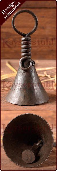 5x S-Haken rund geschmiedet 10,5cm groß Mittelalter Larp handgeschmiedet