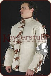 "Gambeson ""Azincourt"", schwarz  (Get Dressed For Battle)"