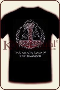 "T-Shirt ""Hail to the Lord of the Hammer"""