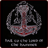 "Motiv ""Hail to the Lord of the Hammer"""