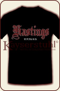 "T-Shirt ""Hastings - 10.14.1066 A.D."""