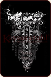 "Vorderseite WOW T-Shirt ""Knights of the Ebon Blade"""