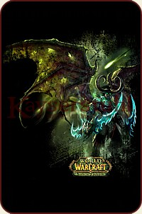 "Vorderseite WOW T-Shirt ""Illidan Black Temple"""