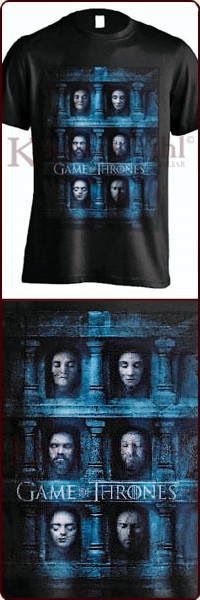 "Game Of Thrones T-Shirt ""Death Masks"""