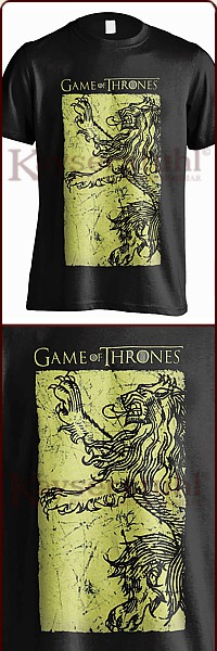 "Game Of Thrones T-Shirt ""Lannister Gold"""