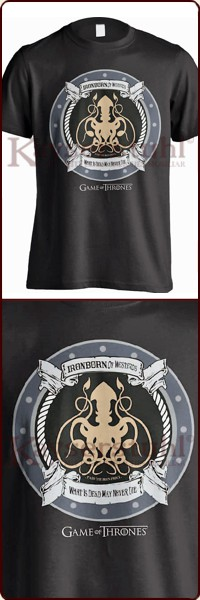 "Game Of Thrones T-Shirt ""Iron Born"""