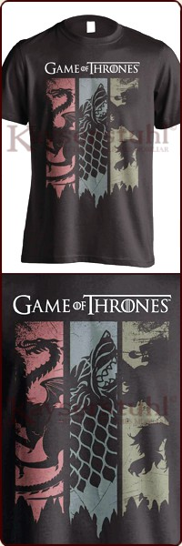 "Game Of Thrones T-Shirt ""Sigils Banner"""