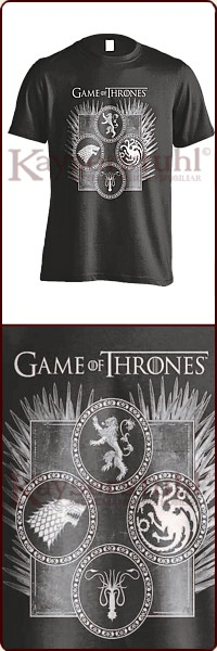 "Game Of Thrones T-Shirt ""Dagger Throne"""