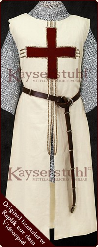 "Assassin´s Creed - Waffenrock/Tunika ""Robert De Sable"""