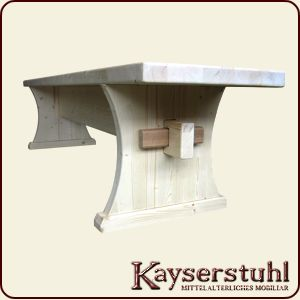 Kayserstuhl Mittelalterliche Tische Bänke