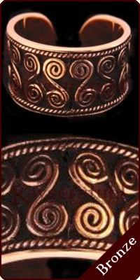 "Ring ""Doppelspirale"" (Bronze)"