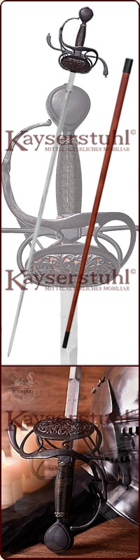 "Rapier ""Gustav II."" Antikversion"